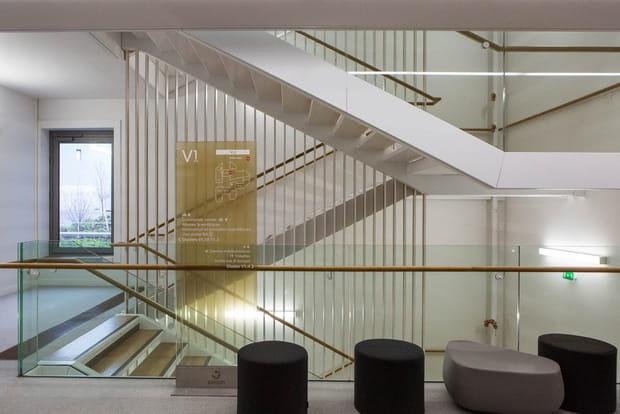 Une incitation à prendre les escaliers
