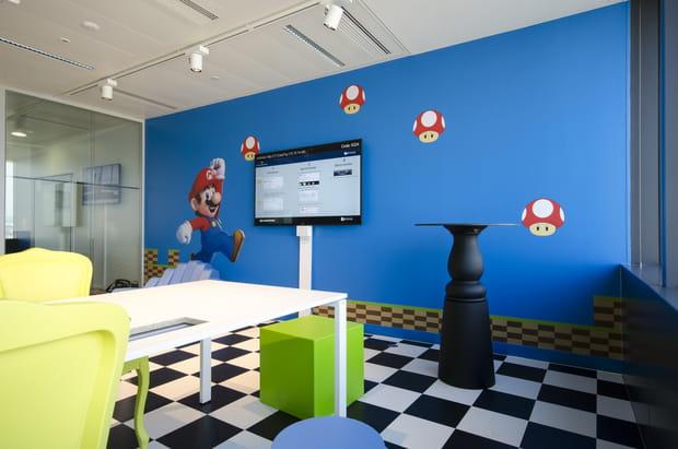 La salle Mario