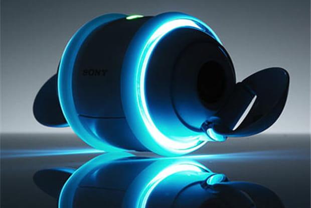 Rolly : le baladeur MP3 qui danse au rythme du son