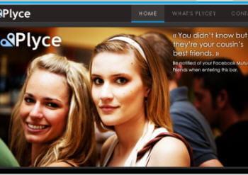 plyce est un réseau social mobile géolocalisé
