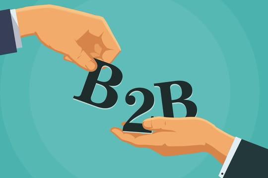 B2B ou B to B: définition simple et traduction de business to business