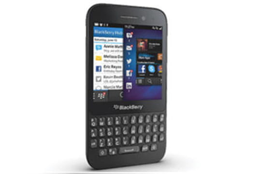 BlackBerry s'attaque au low-cost avec le BlackBerry Q5