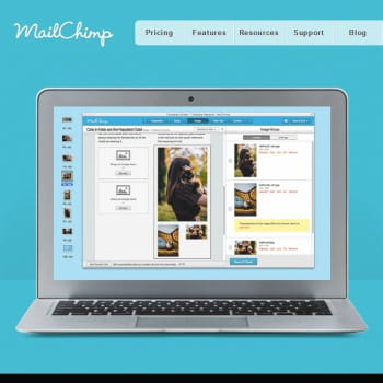 mailchimp, solution d'e-mail marketing