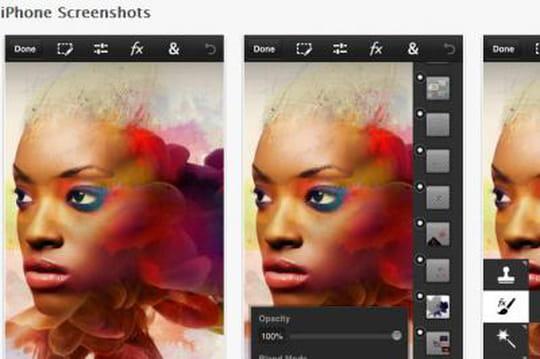 Adobe lance Photoshop Touch sur les smartphones iOS et Android