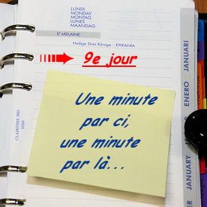 avec quelques règles d'organisation, il est facile de gagner une heure par jour