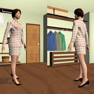 l'avatar en 3d pour un essayage virtuel