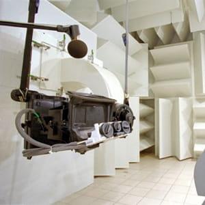 un banc d'essais thermique habitacle.