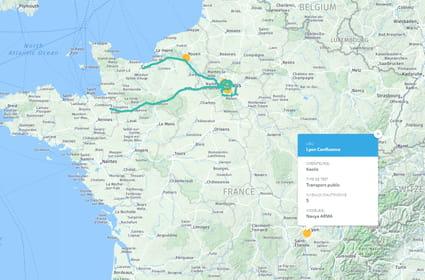 Carte: où croise-t-on des véhicules autonomes en France?