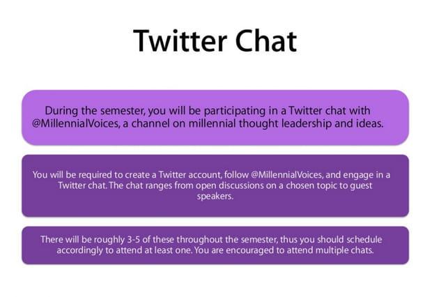 Conversation sur Twitter