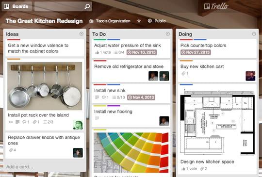 Trello : l'outil de gestion de projet en mode SaaS qui monte