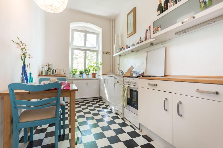 l 39 appartement d 39 angela merkel berlin allemagne. Black Bedroom Furniture Sets. Home Design Ideas