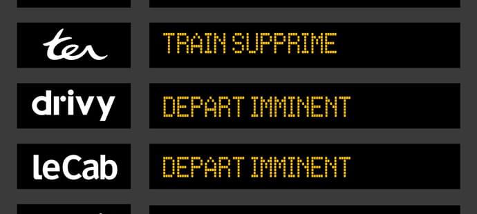 Pour garder les clients de la SNCF, les start-up travaillent déjà à l'après-grève