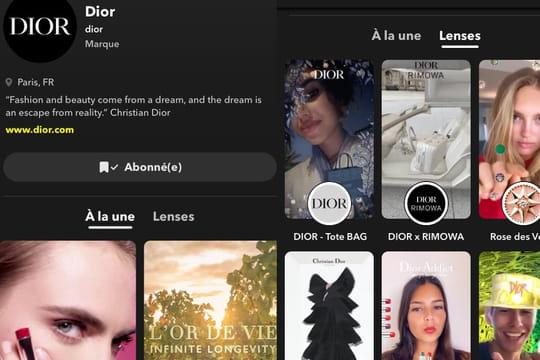 Snapchat lance des pages profils pour optimiser la présence des marques