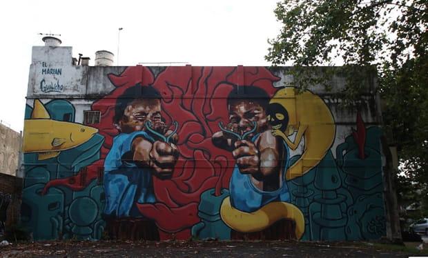 Sans titre par Martin Ron, Villa Urquiza, Buenos Aires