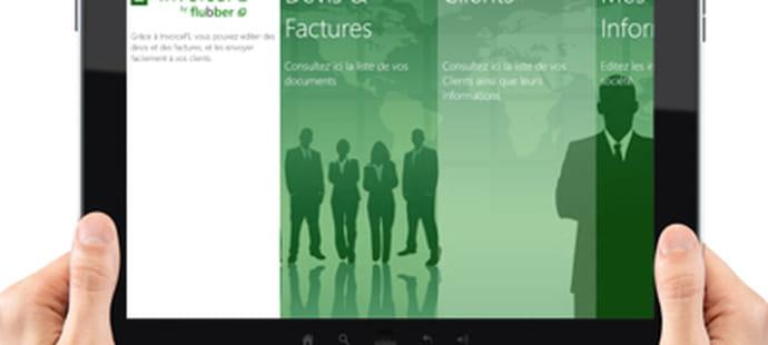 Exclusif: la première application de vente pour Windows 8tactile