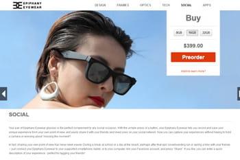 epiphany eyewear se caractérise par un design soigné, avec pour objectif de