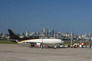 une vue de l'aéroport de sydney.