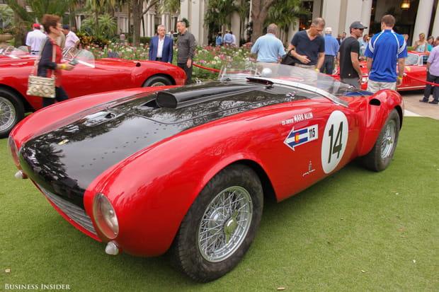 La Ferrari 375 Spider de 1953