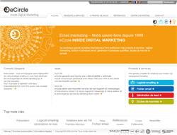 la page d'accueil d'ecircle