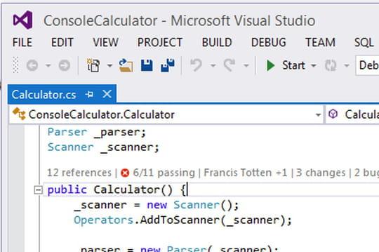 Visual Studio 2013 en images