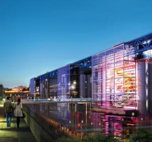 le centre commercial villette perspective à paris comprendra 36boutiques sur