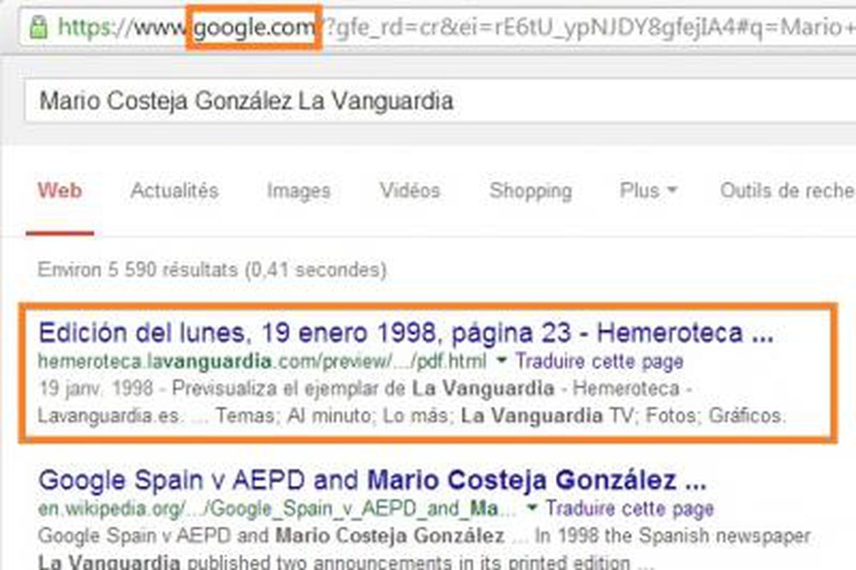 Droit à l'oubli: comment retrouver les contenus déréférencés... sur Google!