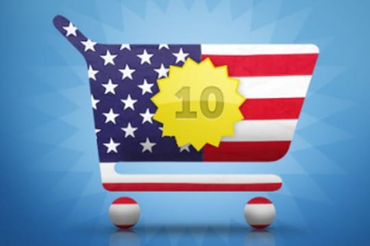 Les 10 e-marchands US à la plus forte croissance