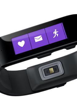 le bracelet de microsoft n'est pas encore au point...