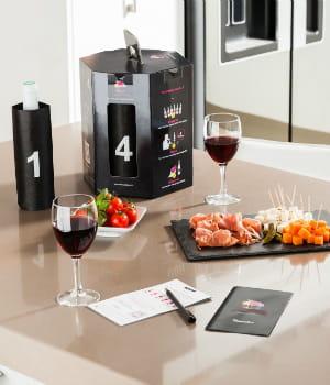 vinocasting révèle aux amateurs leurs vins préférés et leur propose de les