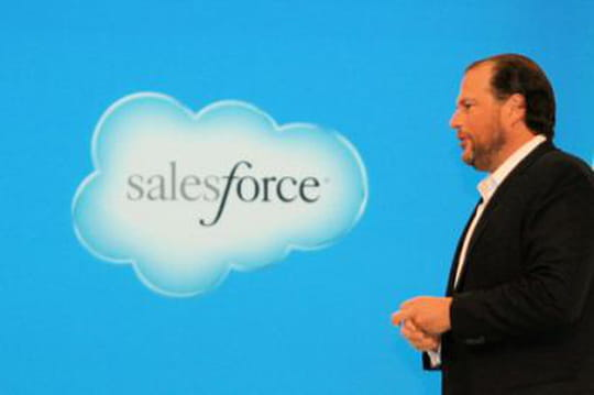 Salesforce a encore dominé le marché du CRM en 2014, devant SAP