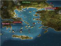 les îles grecques, où sévit la piraterie
