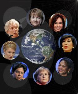 les femmes les plus puissantes du monde.