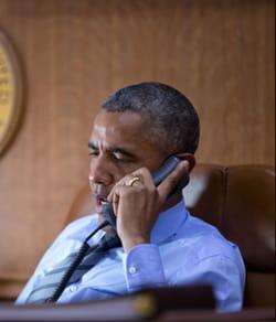 le président américain veille souvent très tard.