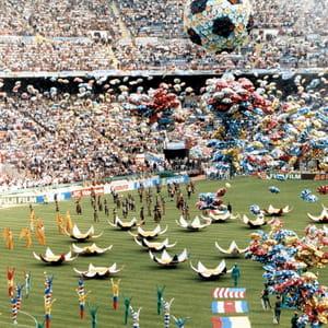 le stade de san siro, habituel jardin de l'ac milan, lors de la coupe du monde