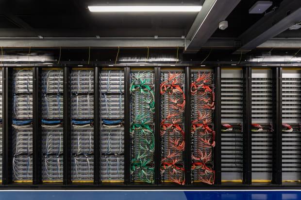 Un data center pour les hyperscalers