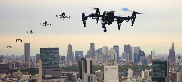 Les drones et taxis volants arrivent, le ciel européen se réforme