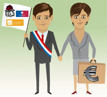 découvrez ces couples où économie et politique font bon ménage.