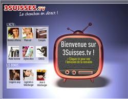 la web tv de 3suisses.fr