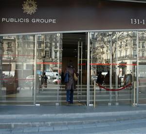 le siège de publicis à paris.