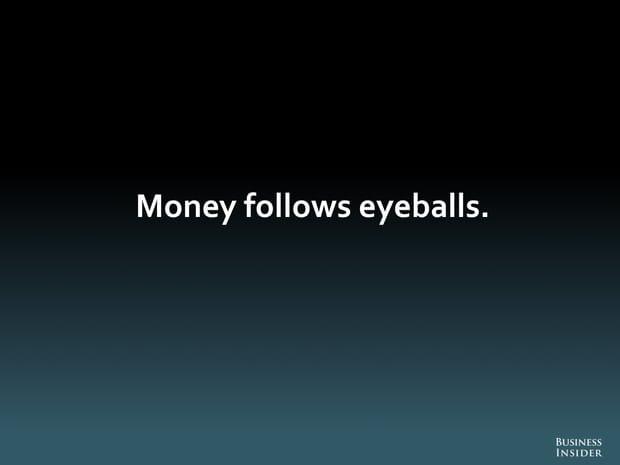 L'argent découle des utilisateurs