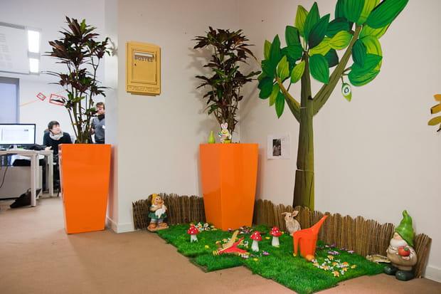 Critéo : décoration des bureaux