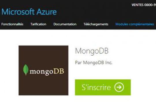 Cloud : MongoDB disponible dans Azure et Google Compute Engine