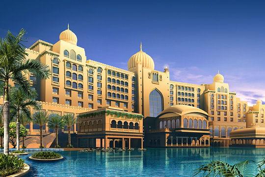 Un palais indien à Dubai