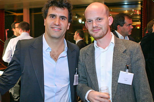 Gaël Duval et Cyril Toulet