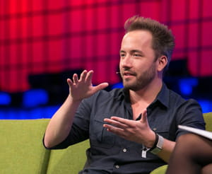 drew houston, ceo de dropbox.