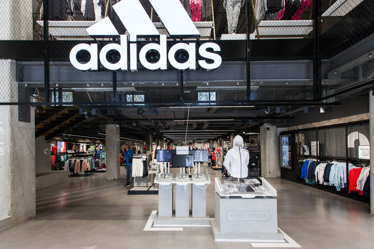 Concept homecourt dans le magasin adidas des champs elys es - Magasin de pierre paris ...