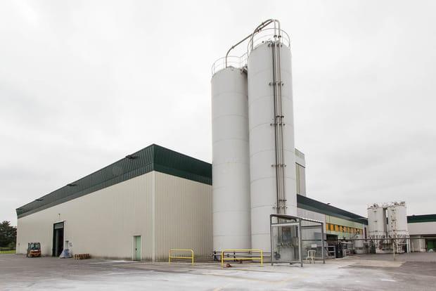 Trois usines Tollens en France