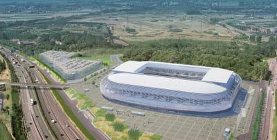le futur stade de lille métropole est financé par un partenariat public-privé.