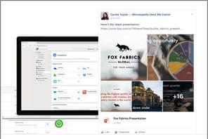 "Workplace by Facebookse transforme enportail collaboratif""2.0"""