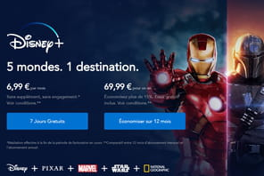 Disney+: 1,8million de téléchargements le jour de son lancement en France
